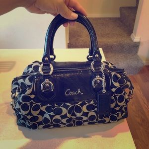 Coach Ashley Signature Satchel